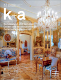 Cover «k+a 2020.1 : Sammlungen und Sammler | Collections et collectionneurs | Collezioni e collezionistin»