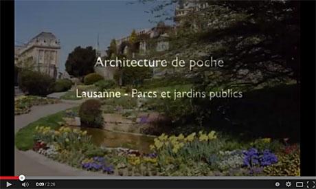 «Lausanne – Parcs et jardins publics»