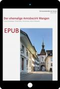 Cover «EPUB Die Kunstdenkmäler des Kantons Bern, Land V. Der ehemalige Amtsbezirk Wangen»