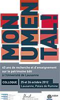 Monumental ! 40 ans d'enseignement de l'histoire du patrimoine bâti à l'Universi