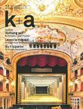 Titelbild Zeitschrift Kunst + Architektur in der Schweiz