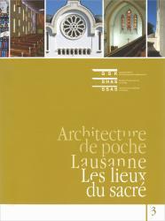 Cover - Lausanne - Les lieux du sacré