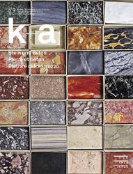 k+a 2012.3 : Stein und Beton - Pierre et béton - Pietra e calcestruzzo
