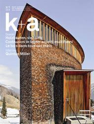 Titelbild K+A 2010.1 Holzbauten, vielfältig