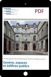 PDF Genève IV. Genève, espaces et édifices publics