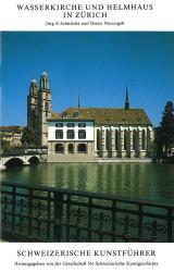 Wasserkirche und Helmhaus in Zürich
