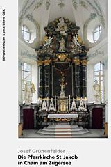 Die Pfarrkirche St. Jakob in Cham am Zugersee