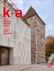 Cover «k+a 2017.4 : Museen | Musées | Musei»