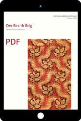 PDF Die Kunstdenkmäler des Kantons Wallis, Band IV. Der Bezirk Brig