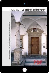 PDF Les monuments d'art et d'histoire du canton du Valais, tome VII. Le district