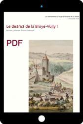 PDF Les monuments d'art et d'histoire du canton de Vaud, tome VIII. Le district