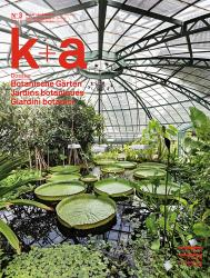 Cover k+a 2016.3 : Botanische Gärten | Jardins botaniques | Giardini botanici