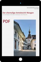 Cover «PDF Die Kunstdenkmäler des Kantons Bern, Land V. Der ehemalige Amtsbezirk Wangen»
