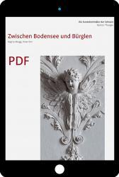 Cover PDF «Die Kunstdenkmäler des Kantons Thurgau IX. Zwischen Bodensee und Bürglen»