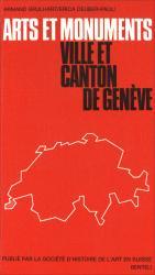 Cover Arts et monuments. Ville et Canton de Genève