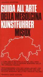 Cover Guida all'arte della Mesolcina/Kunstführer Misox