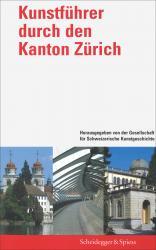 Cover Kunstführer durch den Kanton Zürich