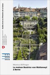 Cover «La maison Beatrice von Wattenwyl à Berne»