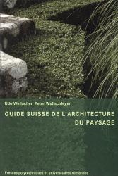 Cover Guide Suisse de l'architecture du paysage