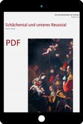 Cover «PDF Die Kunstdenkmäler des Kanton Uri III. Schächental und unteres Reusstal»